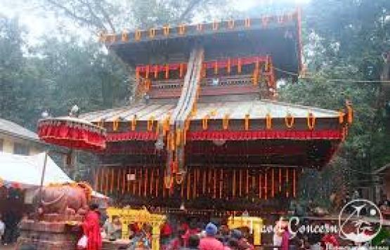 चापागाउको बज्रबाराही मन्दिर